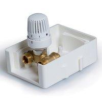 TIM TCB-K01 регулировочный короб с термостатическим клапаном купить в интернет-магазине Азбука Сантехники