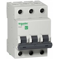 Schneider Electric Easy 9 Автомат 3P 63A (C) 4,5kA купить в интернет-магазине Азбука Сантехники