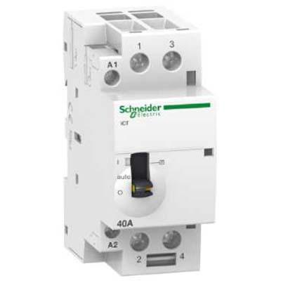Schneider Electric Acti 9 iCT Контактор модульный 40A 230…240V 50Гц 2НО купить в интернет-магазине Азбука Сантехники