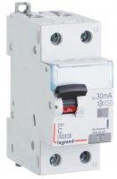 Legrand DX3 Дифавтомат 1P+N 10A (C) 6kA тип AС 30mA купить в интернет-магазине Азбука Сантехники