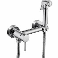 Смеситель Grohenberg GB103N с гигиеническим душем, хром купить в интернет-магазине Азбука Сантехники