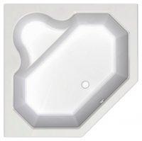 Акриловая ванна угловая Акватек Лира, пятиугольная, 148 см купить в интернет-магазине Азбука Сантехники