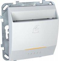 Schneider Electric Unica Белый Выключатель карточный купить в интернет-магазине Азбука Сантехники