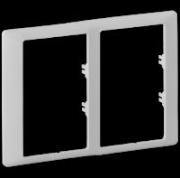 Legrand Valena Life Белый Рамка 2-ая для двух двойных розеток купить в интернет-магазине Азбука Сантехники