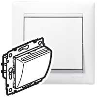 Legrand Valena Белый Выключатель для гостиничных номеров карточный с выдержкой времени купить в интернет-магазине Азбука Сантехники