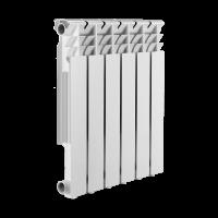 Радиатор алюминиевый SMART Install Easy One 500, 6 секций купить в интернет-магазине Азбука Сантехники