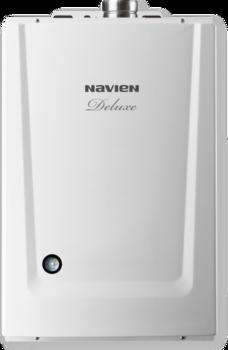 Котел газовый настенный двухконтурный NAVIEN DELUXE 13K COAXIAL, закрытая камера, коаксиальное дымоудаление купить в интернет-магазине Азбука Сантехники