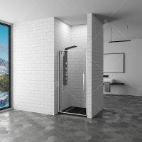 Душевая дверь RGW Stilvoll SV-02, 1000 × 2000 мм, с прозрачным стеклом, профиль — хром купить в интернет-магазине Азбука Сантехники