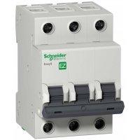 Schneider Electric Easy 9 Автомат 3P 16A (C) 4,5kA купить в интернет-магазине Азбука Сантехники