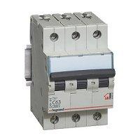 Legrand TX3 Автомат 3P 40A (С) 6/6kA купить в интернет-магазине Азбука Сантехники