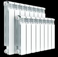 Rifar Alum 350 алюминиевый радиатор отопления, 14 секций купить в интернет-магазине Азбука Сантехники