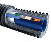 Труба Uponor ECOFLEX SUPRA PLUS с греющим кабелем 10ВТ/M 32 × 2,9/68 мм (бухта 150 м) купить в интернет-магазине Азбука Сантехники