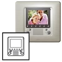 Legrand Celiane Титан Накладка дополнительного встраиваемого видео-блока домофона с ЖК-экраном (OLD) купить в интернет-магазине Азбука Сантехники