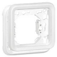 Legrand Plexo Белый Рамка 1-ая с суппортом для скрытого монтажа IP55 купить в интернет-магазине Азбука Сантехники