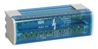 """IEK Шина N """"ноль"""" в корпусе , на DIN-рейку, 2х15групп: 11х5.3+2х7.5+2x9мм, 125A купить в интернет-магазине Азбука Сантехники"""