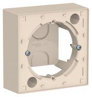 Schneider Electric AtlasDesign Бежевый Коробка для наружного монтажа купить в интернет-магазине Азбука Сантехники