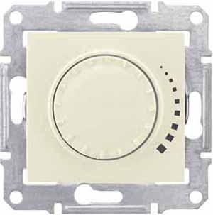 Schneider Electric Sedna Бежевый Светорегулятор поворотный индуктивный 60-325 Вт купить в интернет-магазине Азбука Сантехники