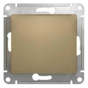 Schneider Electric Glossa Титан Переключатель 1-клавишный 10A (схема 6) купить в интернет-магазине Азбука Сантехники