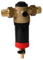 """Фильтр поворотный SYR Ratio Vario FR-Hot с обратной промывкой Ø 1"""", для горячей воды купить в интернет-магазине Азбука Сантехники"""