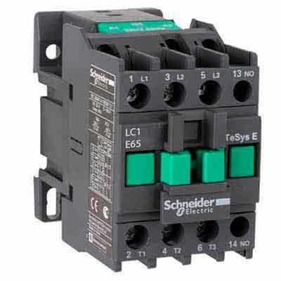 Schneider Electric EasyPact TVS Контактор 400V 50A, 3НО, катушка 220V~ 50Гц купить в интернет-магазине Азбука Сантехники