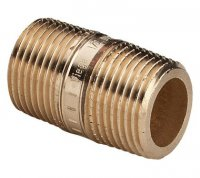 """Удлиненный ниппель Viega Ø 1/2"""" × 150 мм бронзовый, модель 3530 (267 353) купить в интернет-магазине Азбука Сантехники"""