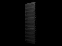 Радиатор биметаллический Royal Thermo PianoForte Tower Noir Sable, черный графитовый, 22 секции купить в интернет-магазине Азбука Сантехники