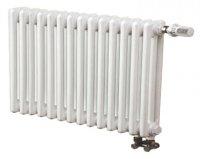 Трубчатый радиатор 3-трубный Arbonia 3030 14 секций N69 твв, белый RAL 9016 (нижнее подключение) купить в интернет-магазине Азбука Сантехники