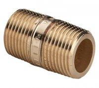 """Удлиненный ниппель Viega Ø 1"""" × 100 мм бронзовый, модель 3530 (267 278) купить в интернет-магазине Азбука Сантехники"""