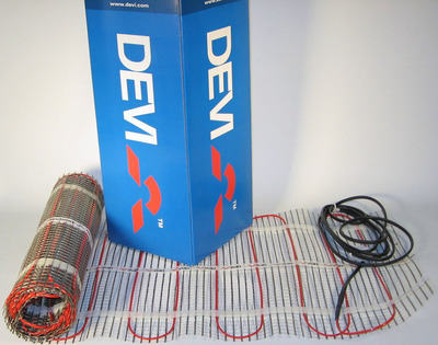 Теплый пол электрический Devi Devimat DTIF-150 — 0,5 × 1 м (0.5 м²) купить в интернет-магазине Азбука Сантехники