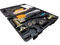 Комплект механического инструмента TIM FT-1240A для аксиальных фитингов купить в интернет-магазине Азбука Сантехники