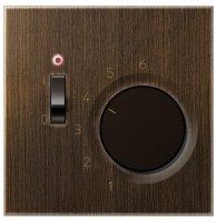 Jung Механизм Латунь Antik Комнатный термостат купить в интернет-магазине Азбука Сантехники