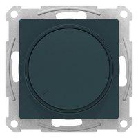 Schneider Electric AtlasDesign Изумруд Светорегулятор (диммер) поворотно-нажимной 315Вт механизм купить в интернет-магазине Азбука Сантехники