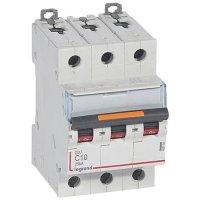 Legrand DX3 Автомат 3P 10A (C) 25kA купить в интернет-магазине Азбука Сантехники