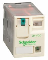 Schneider Electric Реле 4 co светодиод 24В DC купить в интернет-магазине Азбука Сантехники