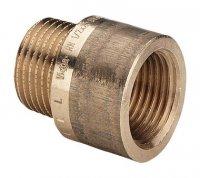 """Удлинитель Viega Ø 1/2"""" × 30 мм бронзовый, модель 3525 (354 992) купить в интернет-магазине Азбука Сантехники"""