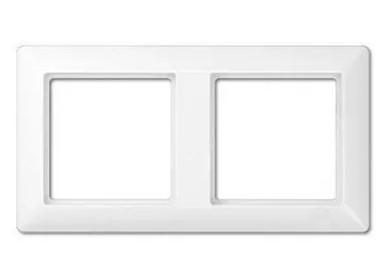 Jung EcoProfi Белый Рамка 2-постовая купить в интернет-магазине Азбука Сантехники
