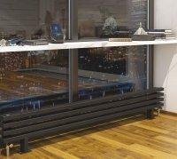 Дизайн-радиатор Loten Грей ZN 280 × 750 × 60 купить в интернет-магазине Азбука Сантехники