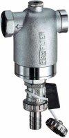 """Фильтр FAR 1/2"""" ВР-ВР с манометром, 100 мкм, max 95 °C, 25 бар купить в интернет-магазине Азбука Сантехники"""