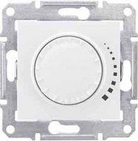 Schneider Electric Sedna Белый Светорегулятор поворотный емкостной 25-325 Вт купить в интернет-магазине Азбука Сантехники