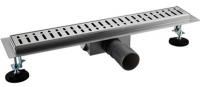 Трап душевой Gappo G85007-3 из нержавеющей стали 70 × 500 мм купить в интернет-магазине Азбука Сантехники