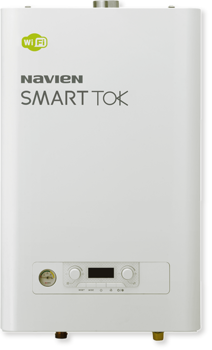 Котел газовый настенный двухконтурный NAVIEN SMART TOK 24K COAXIAL, закрытая камера, коаксиальное дымоудаление купить в интернет-магазине Азбука Сантехники