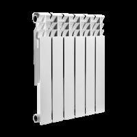 Радиатор биметаллический SMART Install biEasy One 500, 12 секций купить в интернет-магазине Азбука Сантехники
