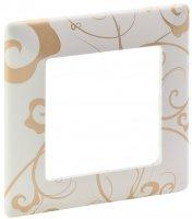 Legrand Valena Life Ампир Белый Рамка 1 пост купить в интернет-магазине Азбука Сантехники