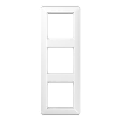 Jung AS 500 Белый Рамка ударопрочная 3-ая купить в интернет-магазине Азбука Сантехники