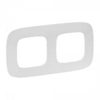 Legrand Valena Allure Белый Рамка 2 поста купить в интернет-магазине Азбука Сантехники