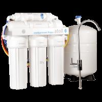 Система очистки воды ATOLL A-550 (Патриот) с обратным осмосом купить в интернет-магазине Азбука Сантехники