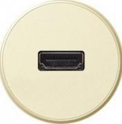 Legrand Celiane Слоновая кость Накладка розетки аудио/видео HDMI купить в интернет-магазине Азбука Сантехники