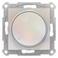 Schneider Electric AtlasDesign Жемчуг Светорегулятор (диммер) поворотно-нажимной 315Вт механизм купить в интернет-магазине Азбука Сантехники