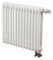 Трубчатый радиатор 3-трубный Arbonia 3057 14 секций N69 твв, белый RAL 9016 (нижнее подключение) купить в интернет-магазине Азбука Сантехники