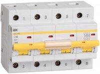 IEK ВА47-100 Автомат 4P 40A (С) 10kA купить в интернет-магазине Азбука Сантехники